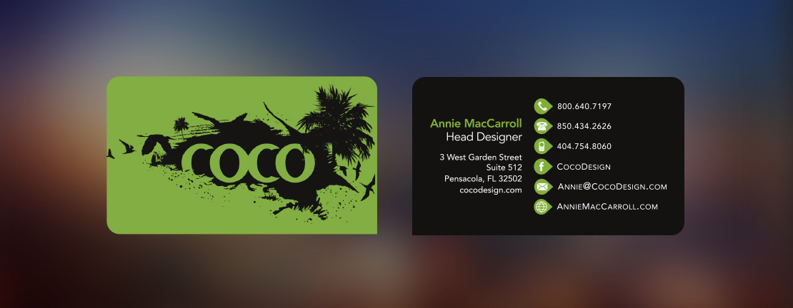 Business card samples annie maccarroll design project details every company needs business cards colourmoves